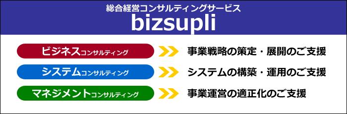 コンサルティングサービス「bizsupli」