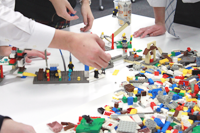 レゴを使って電縁を作る